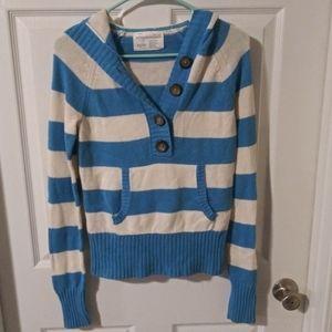 Stripe sweater. Rarely worn. No stains